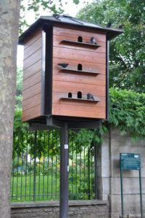 Photo du pigeonnier à Paris, rue de la Roquette